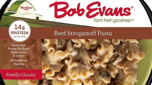 Bob Evans recalling pasta ready-to-eat meals over missed federal inspections