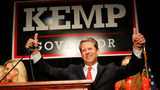 Then-Republican gubernatorial candidate Brian Kemp attends the Election Night event at the Classic Center on November 6, 2018 in Athens, Georgia. Kemp won in a close race with Democrat Stacey Abrams. Photo: Kevin C. Cox/Getty Images