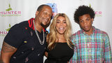 Kevin Hunter, wife Wendy Williams and son Kevin Hunter Jr. pose at a celebration for The Hunter Foundation Charity that helps fund programs for families and youth communities in need of help in 2017 in New York. Photo: Bruce Glikas/Getty Images