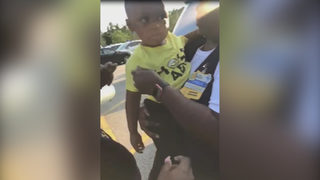 Video: Child rescued from hot car parked at Walmart, father arrested