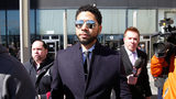 FILE PHOTO: Actor Jussie Smollett leaves the Leighton Courthouse after his court appearance on March 26, 2019, in Chicago, Illinois. This morning in court it was announced that all charges were dropped against the actor.