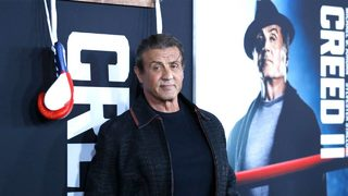 Sylvester Stallone shows off pet turtles that appeared in
