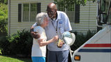The story of Floyd Martin, a recently retired mailman in Marietta, Georgia, has gone viral.
