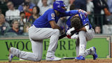 Cubs' Albert Almora Jr. Breaks Down after Foul Ball Hits Young Girl