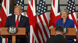 President Donald Trump Visits the United Kingdom