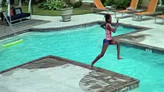 WATCH: 10-Year-Old Girl Rescues 3-Year-Old Sister from Drowning