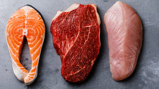 Study: White meat as bad as red meat for cholesterol