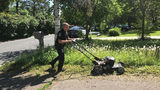 Minnesota Police Officer Mows Woman's Lawn After Conducting Welfare Check