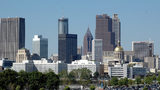 A photo of downtown Atlanta.