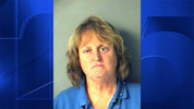 Nancy Bucciarelli was arrested and charged with animal cruelty after pushing a golden retriever off a dock and letting it drown in a lake, police said. (Photo: Boston25News.com)