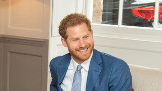 Prince Harry shares new photo of Archie on his first Father