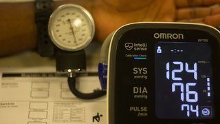 High blood pressure at doctor