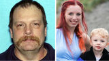 Michael John Wolfe, 52, of Gaston, Oregon, is charged with murder and kidnapping in the deaths of Karissa Fretwell, 25, and her son, William, both of Salem. Wolfe is the 3-year-old boy's biological father.