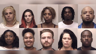 10 arrested in prostitution bust at Georgia hotel