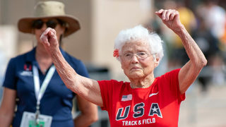 103-year-old woman from Louisiana sets record in 50-meter dash