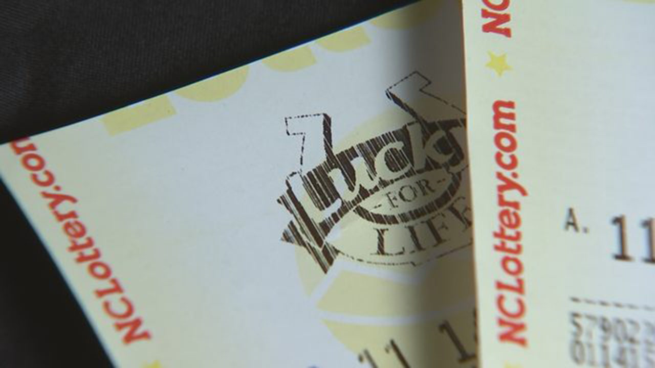 HUGE NUMBER OF WINNERS IN NC LOTTERY: Jackpot: More than 2,000
