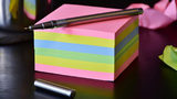 Stock photo of Post-It notes.