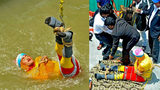 SEE: Magician Attempting Houdini-Style Stunt Drowns in River in India