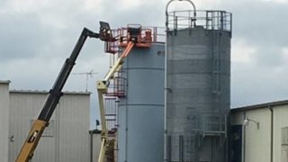 Indianapolis firefighters rescue homeless woman stuck in silo for week