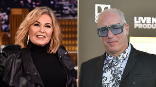 Roseanne Barr, Andrew Dice Clay announce