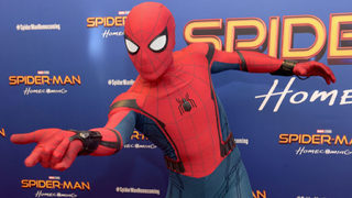 Video shows Spider-Man pressure-washing roof in Florida