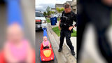 WATCH: Adorable Moment Officer Pulls Over Daughter