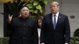 Trump asks Kim Jong Un in tweet to meet at DMZ during his South Korea visit