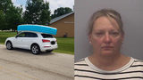 Illinois Woman Accused Of Driving While Children Sat On Roof Of SUV To Secure Inflatable Pool