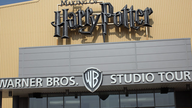 Stage at Warner Bros. Leavesden Studios, where Harry Potter filmed, catches fire