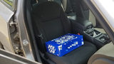 Driver Uses Case of Beer as Booster Seat for Toddler