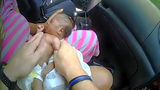 WATCH: Deputy Pulled over Car, Saved Newborn's Life