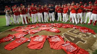 Angels honor Tyler Skaggs with combined no-hitter against Mariners