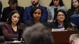 Rep. Alexandria Ocasio-Cortez (D-NY), Rep. Ayanna Pressley (D-MA) and Rep. Rashida Tlaib (D-MI) are among the Democratic Congreesswomen thought to be the target of racist tweets from President Trump.