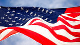 Stock photo of an American flag.