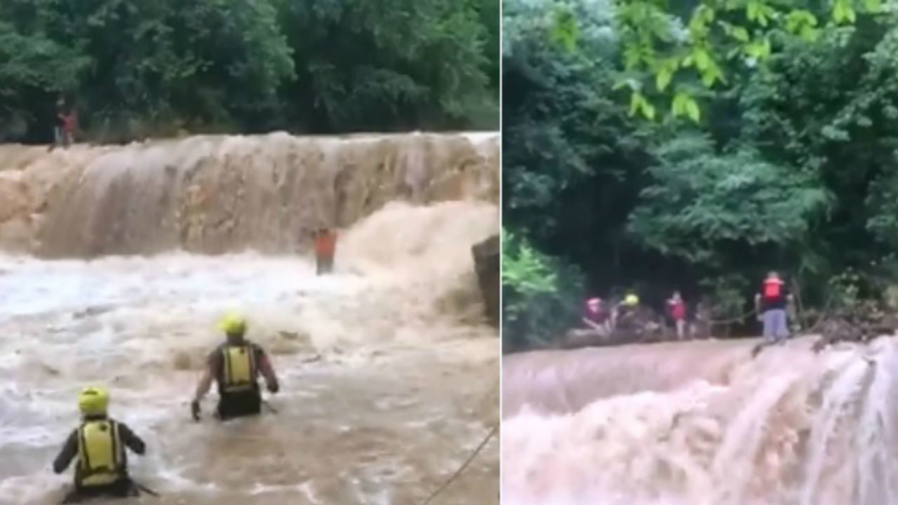 10 children, 1 adult rescued from river | WPXI