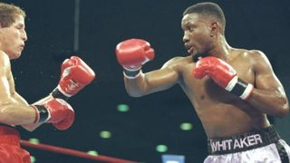 Former boxing champion Pernell