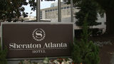 The downtown Atlanta Sheraton Hotel where three people possibly caught Legionnaires' disease. The Georgia Department of Health closed the hotel until further notice.