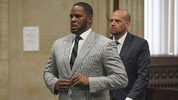 Singer R. Kelly pleaded not guilty on June 6, 2019, to 11 sex-related felonies during a court hearing before Judge Lawrence Flood at Leighton Criminal Court Building in Chicago. (E. Jason Wambsgans/Chicago Tribune via AP, Pool)