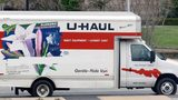 Three children were found in the back of a U-Haul near an eastern Tennessee welcome center, authorities said.