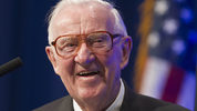 Former U.S. Supreme Court Justice John Paul Stevens died Tuesday, July 16, 2019, in Fort Lauderdale, Fla., after suffering a stroke Monday. He was 99. (AP Photo/Danny Johnston, File)