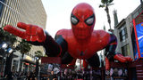 "FILE PHOTO: A fiberglass sculpture, titled ""Spiderman"" by artist Ian Anthony has drawn a complaint for being demonic. It is one of 51 ""Serving Hands Lincoln"" installations placed throughout the city. (Photo: Frazer Harrison/Getty Images)"