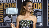 """Natalie Portman played the character Jane Foster in the first two Thor movies and had a non-speaking role in """"Avengers: Endgame."""" (Photo by Kevin Winter/Getty Images)"""