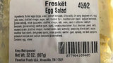 Freskët-brand Egg Salad packaged in a 32-ounce clear, square, plastic container, Lot Number W1906042, Use By 12AUG2019A (printed on the side of each container) (www.fda.gov)
