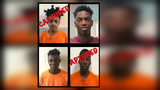 Four juvenile inmates staged a fight and escaped Saturday night from a Florida Department of Juvenile Justice facility, officials said. (Photo: Jacksonville Sheriff's Office)