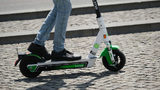 Drivers on I-35 in Dallas were surprised Monday morning to see a man driving a Lime scooter with the rest of traffic, cutting through five lanes in a seemingly nonchalant manner.