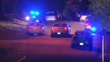 A pregnant Georgia mother was holding her 2-year-old son's hand when she was shot and killed at an Athens apartment complex Monday night, WSB-TV reported.