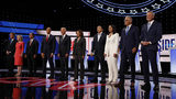 Ten candidates took the stage Wednesday night for Part 2 of the second Democratic presidential primary debate, held at the Fox Theatre in Detroit.