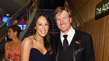 Joanna Gaines and Chip Gaines attend the TIME 100 Gala 2019 Cocktails at Jazz at Lincoln Center on April 23, 2019 in New York City.