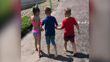 VIDEO: 2 children help boy with cerebral palsy navigate through New York water park