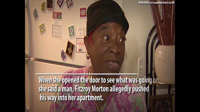 Woman bites man she said broke into her apartment | Boston 25 News